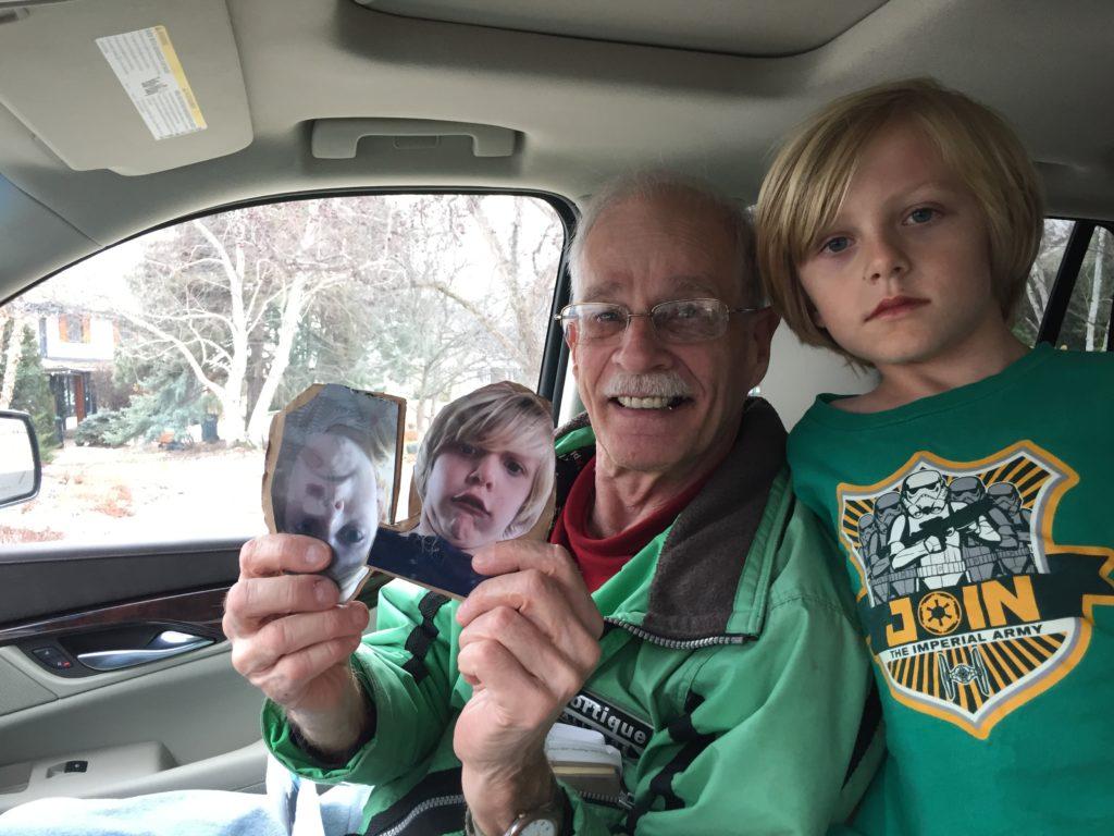 Rex and Grandpa