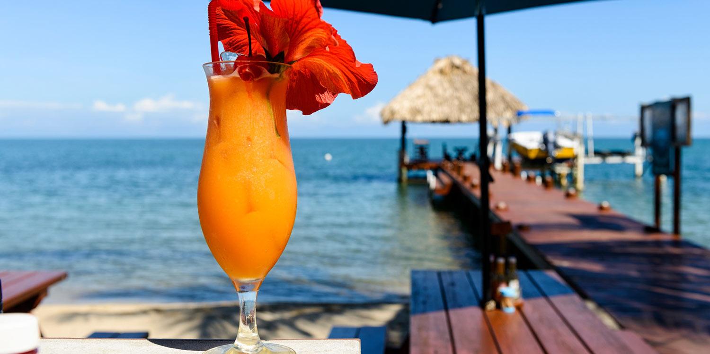 Belize rum cocktail