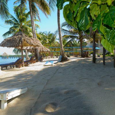 Beach games in Hopkins Belize