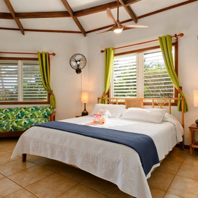 Belize beach cabana