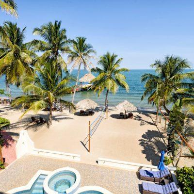 Belize hotel room