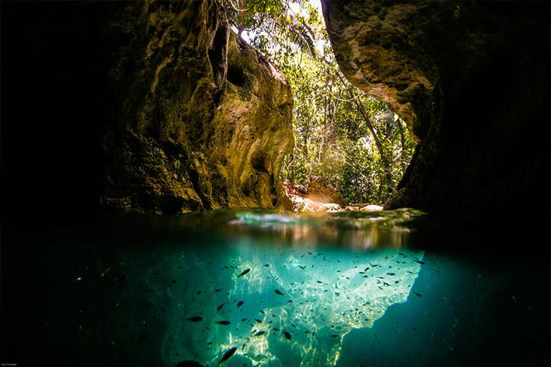 Actun Tunichil Muknal cave entrance