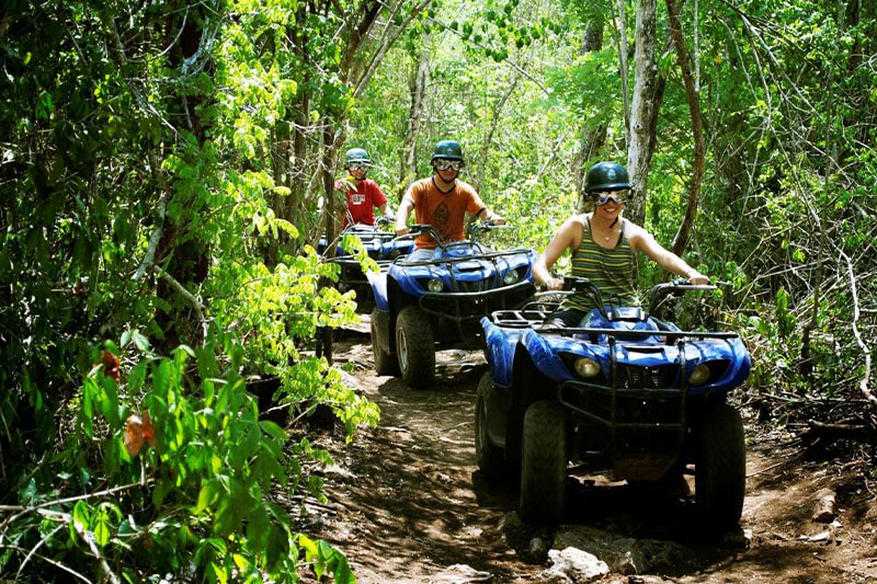 Belize jungle atv