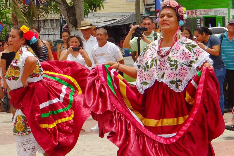 Belize maya celebration