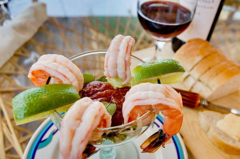 Belize resort food