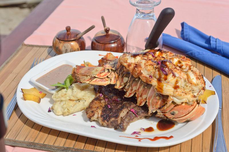 Belize barracuda restaurant