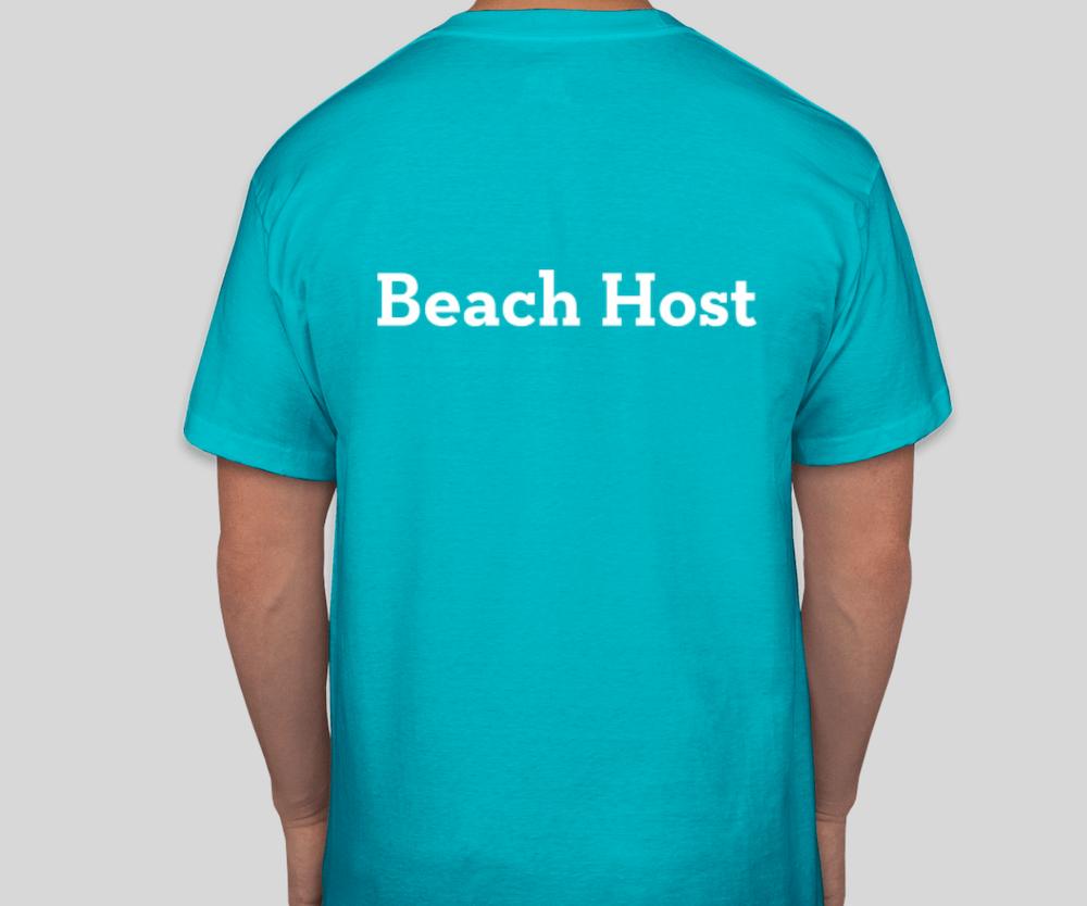 Beach host t-shirt